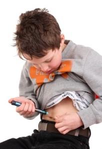 nino con diabetes