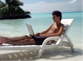 beach-working